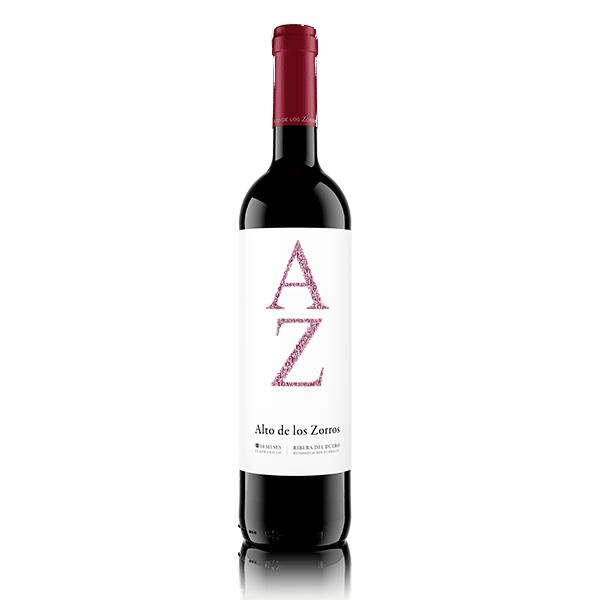 Comprar vino online Alto de los Zorros 10 meses - DO Ribera Del Duero