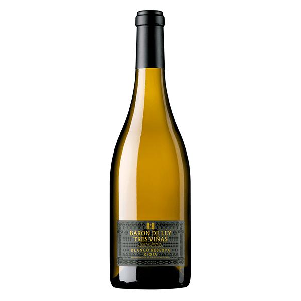 Comprar vino online Barón de Ley Blanco Reserva Tres Viñas - DO Rioja