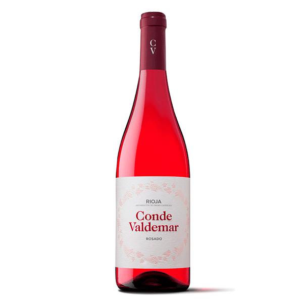Comprar vino online Conde de Valdemar Rosado - DO Rioja