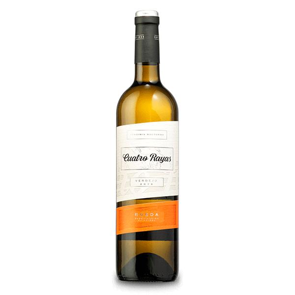 Comprar vino online Cuatro Rayas Verdejo 100% - DO Rueda