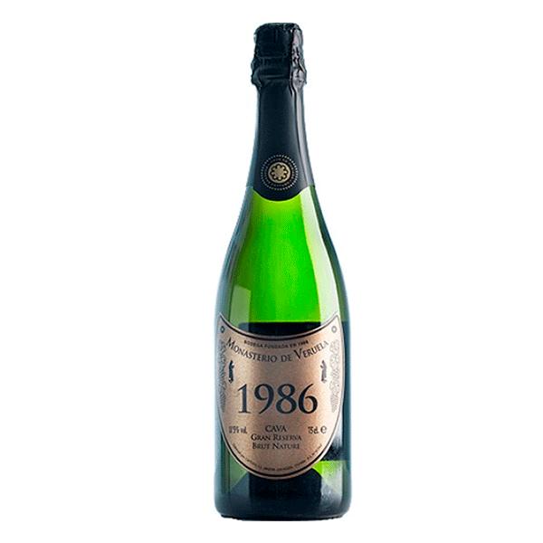 Comprar vino online Monasterio de Veruela Gran Reserva 1986 - DO Cava