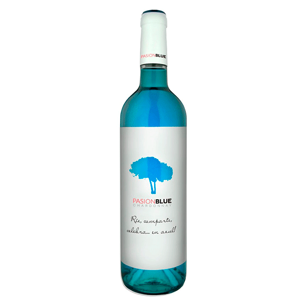 Comprar vino online Pasion Blue Chardonnay 100% - DO La Mancha