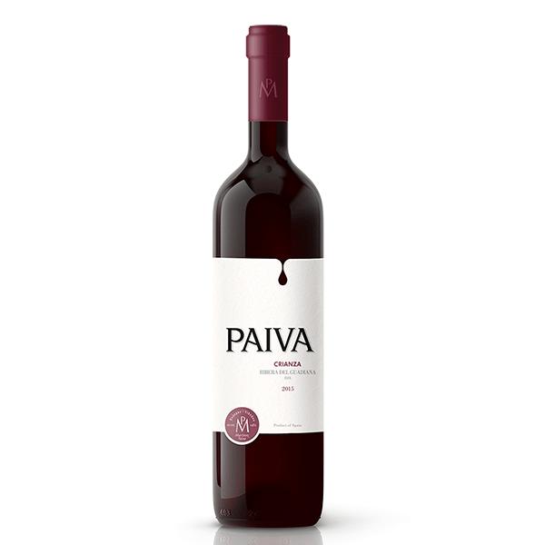 Comprar vino online Payva Crianza - DO Extremadura