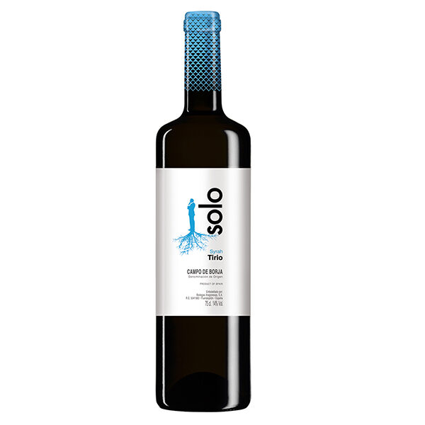 Comprar vino online Solo Tirio Syrah Crianza - DO Campo De Borja