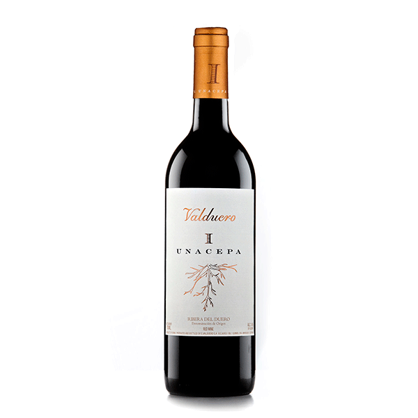 Comprar vino online Valduero Una Cepa 18 Meses - DO Ribera Del Duero