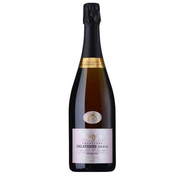 Champagne Delavenne Brut Rose Grand Cru