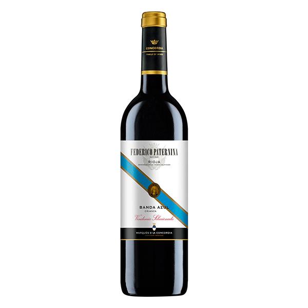 Comprar vino online Paternina Crianza Banda Azul - DO Rioja